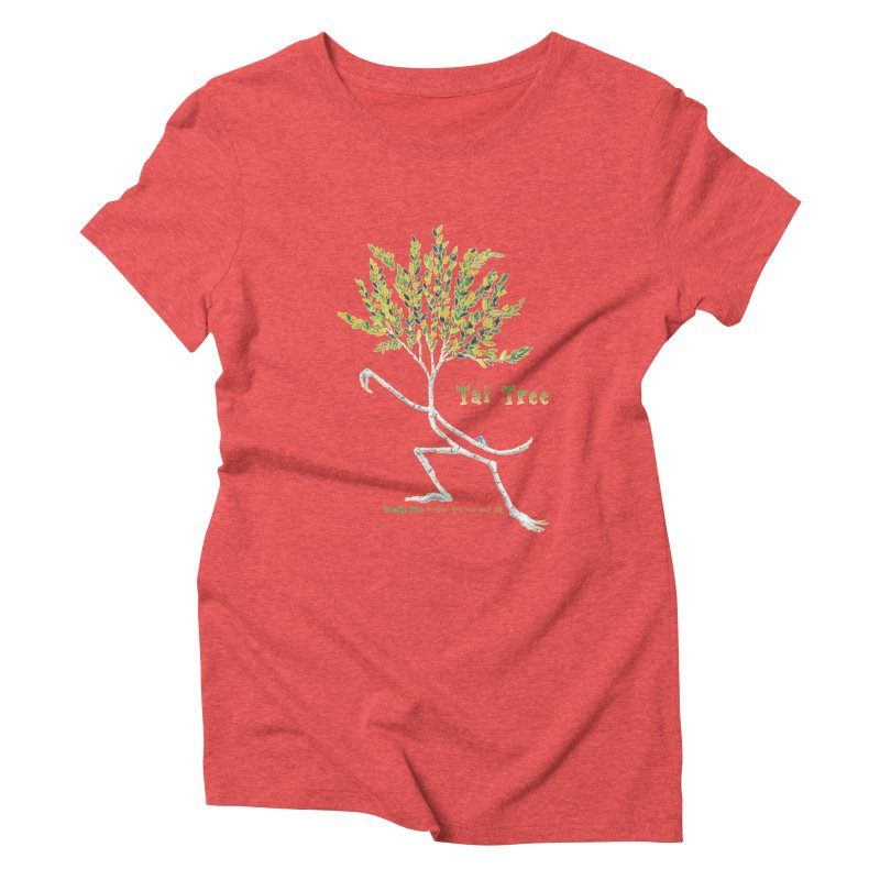 Tai Tree Women's Triblend T-Shirt by Family Tree Artist Shop