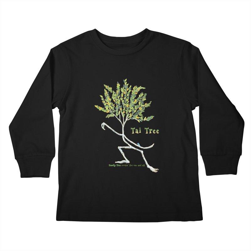 Tai Tree Kids Longsleeve T-Shirt by Family Tree Artist Shop
