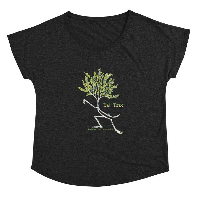 Tai Tree Women's Scoop Neck by Family Tree Artist Shop