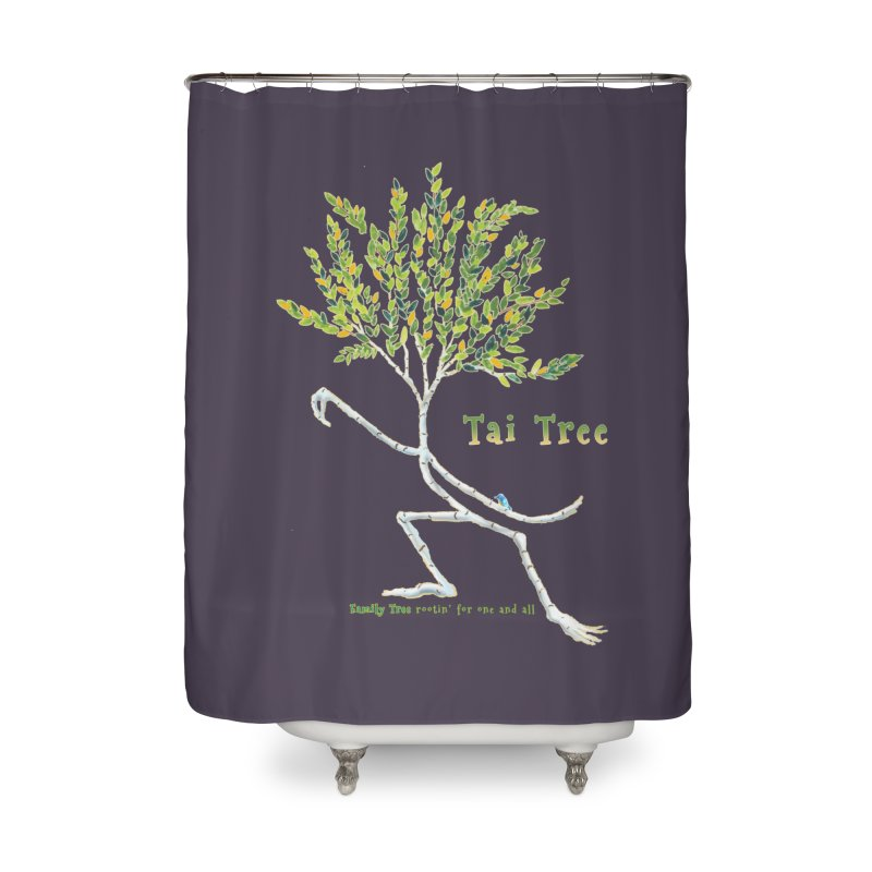 Tai Tree Home Shower Curtain by Family Tree Artist Shop