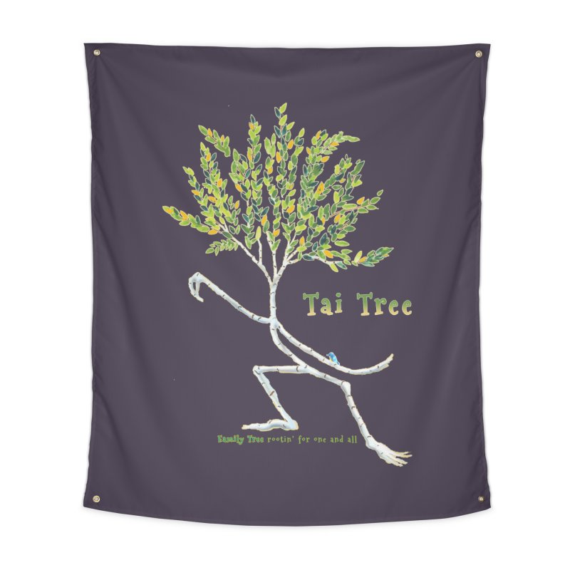Tai Tree Home Tapestry by Family Tree Artist Shop