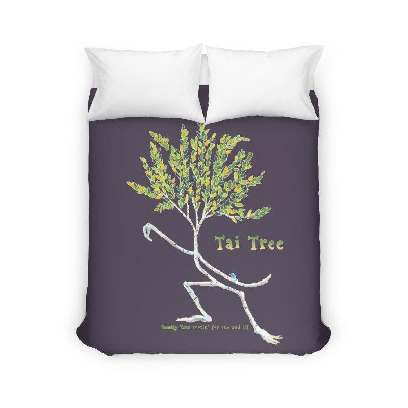 Tai Tree Home Duvet by Family Tree Artist Shop