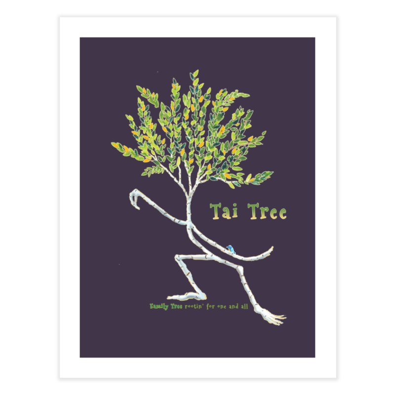 Tai Tree Home Fine Art Print by Family Tree Artist Shop