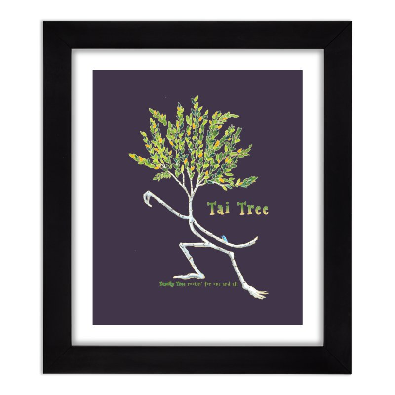 Tai Tree Home Framed Fine Art Print by Family Tree Artist Shop