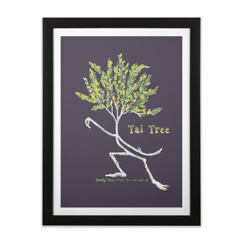 Tai Tree Home Framed Fine Art Print by Family Tree Artist Shop