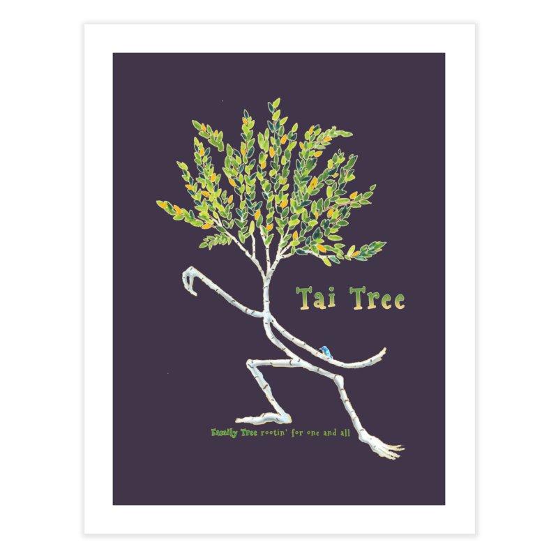 Tai Tree Home Fine Art Print by Family Tree Artist Shop