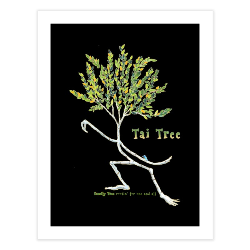 Tai Tree sprig Home Fine Art Print by Family Tree Artist Shop