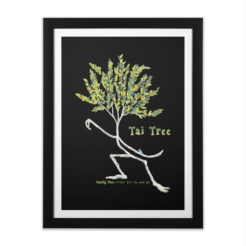 Tai Tree sprig Home Framed Fine Art Print by Family Tree Artist Shop