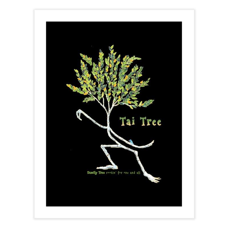 Tai Tree sprig Home Fine Art Print by Family Tree Artist Shop