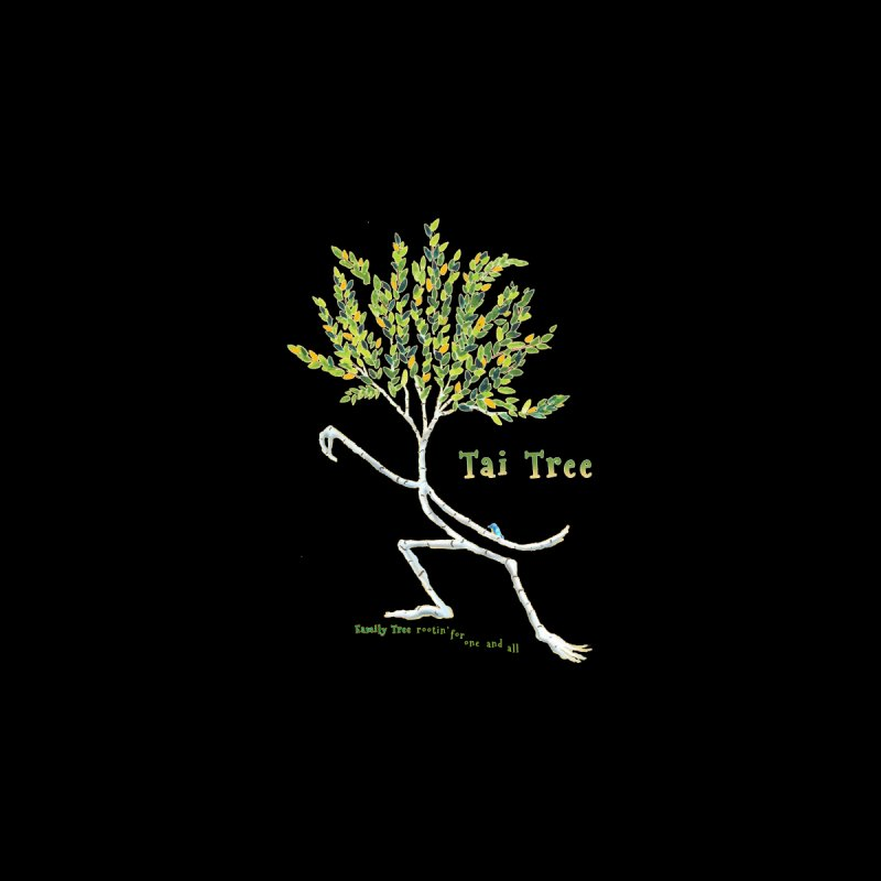 Tai Tree sprig Kids T-Shirt by Family Tree Artist Shop