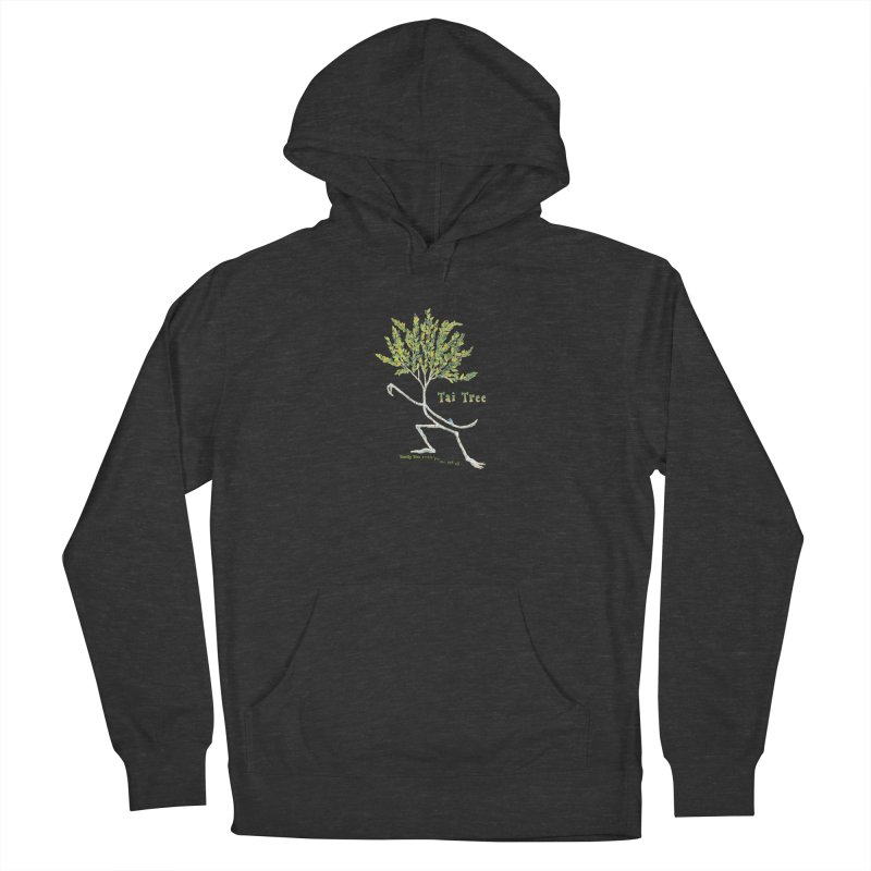 Tai Tree sprig Men's French Terry Pullover Hoody by Family Tree Artist Shop