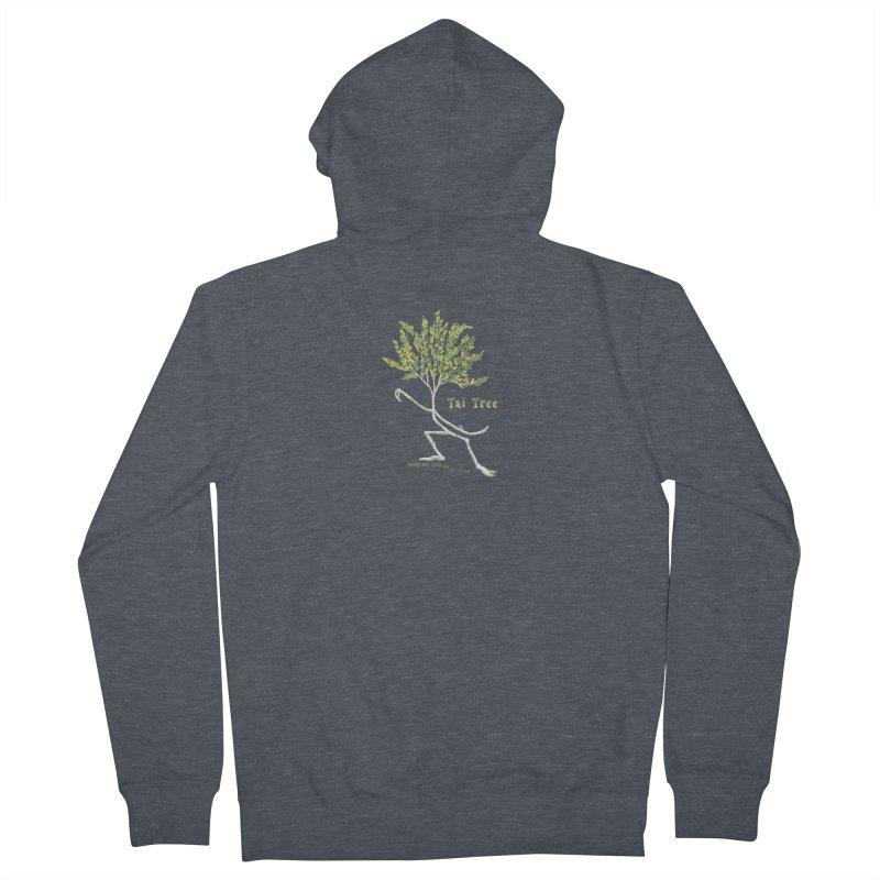 Tai Tree sprig Men's Zip-Up Hoody by Family Tree Artist Shop