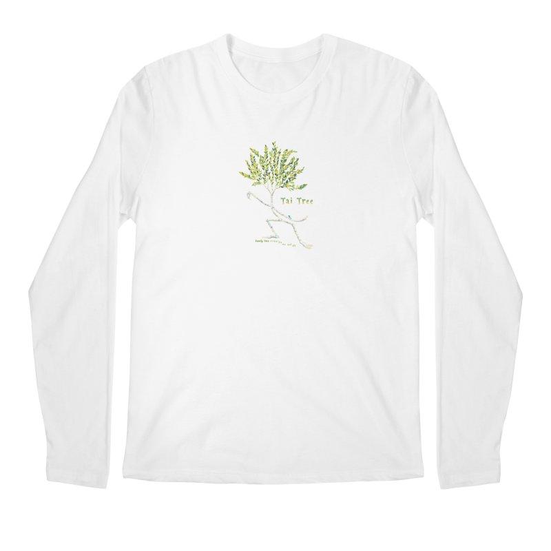 Tai Tree sprig Men's Regular Longsleeve T-Shirt by Family Tree Artist Shop