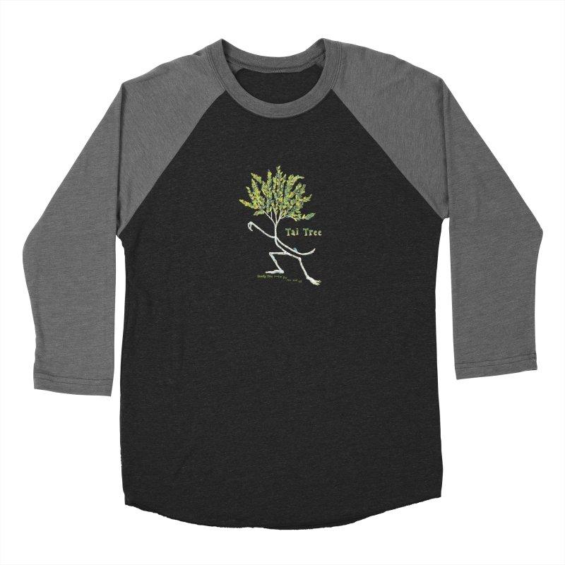 Tai Tree sprig Men's Baseball Triblend Longsleeve T-Shirt by Family Tree Artist Shop