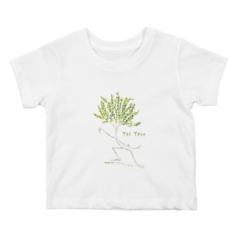 Tai Tree sprig Kids Baby T-Shirt by Family Tree Artist Shop