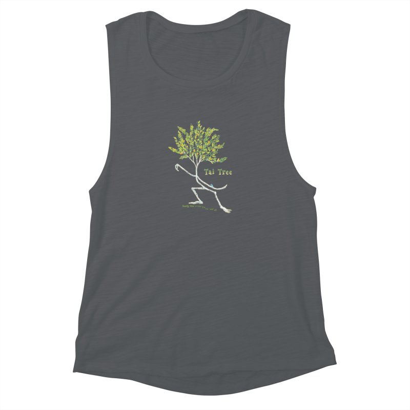 Tai Tree sprig Women's Muscle Tank by Family Tree Artist Shop