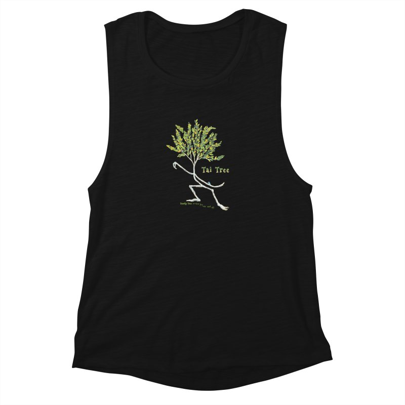 Tai Tree sprig Women's Tank by Family Tree Artist Shop