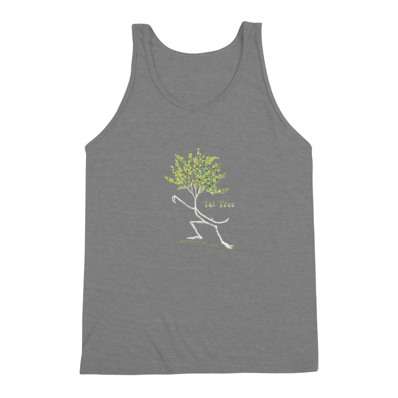 Tai Tree sprig Men's Triblend Tank by Family Tree Artist Shop