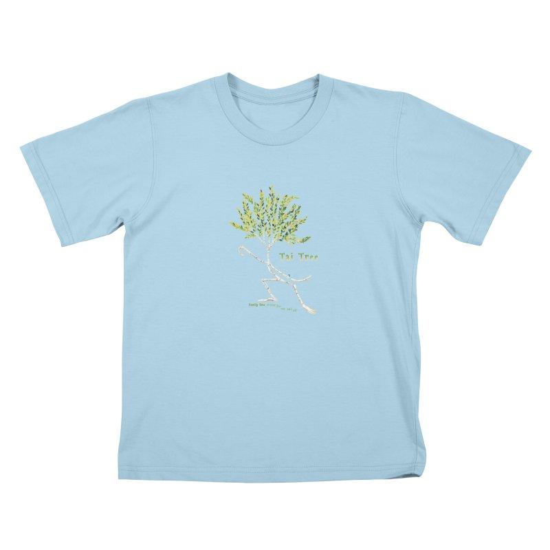 Tai Tree sprig Kids T-Shirt by Family Tree Artist Shop