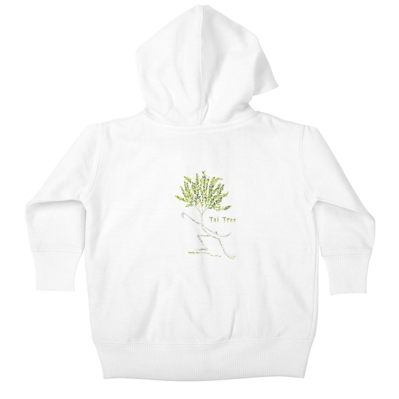 Tai Tree sprig Kids Baby Zip-Up Hoody by Family Tree Artist Shop
