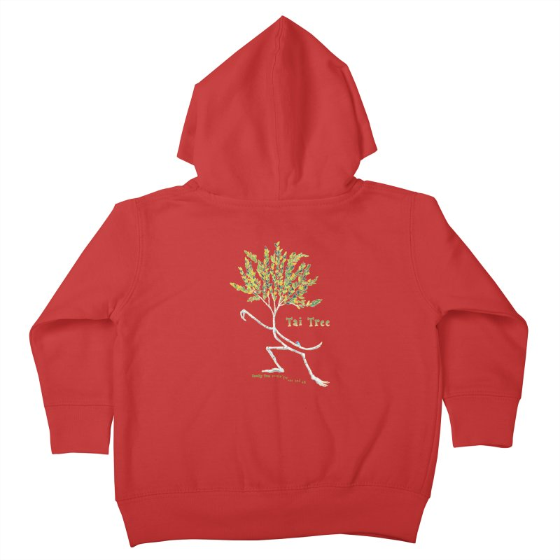 Tai Tree sprig Kids Toddler Zip-Up Hoody by Family Tree Artist Shop