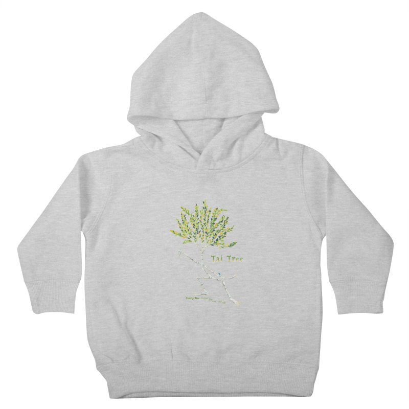Tai Tree sprig Kids Toddler Pullover Hoody by Family Tree Artist Shop