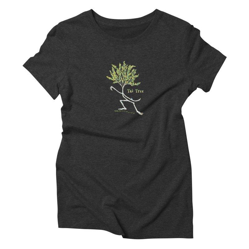 Tai Tree sprig Women's Triblend T-Shirt by Family Tree Artist Shop