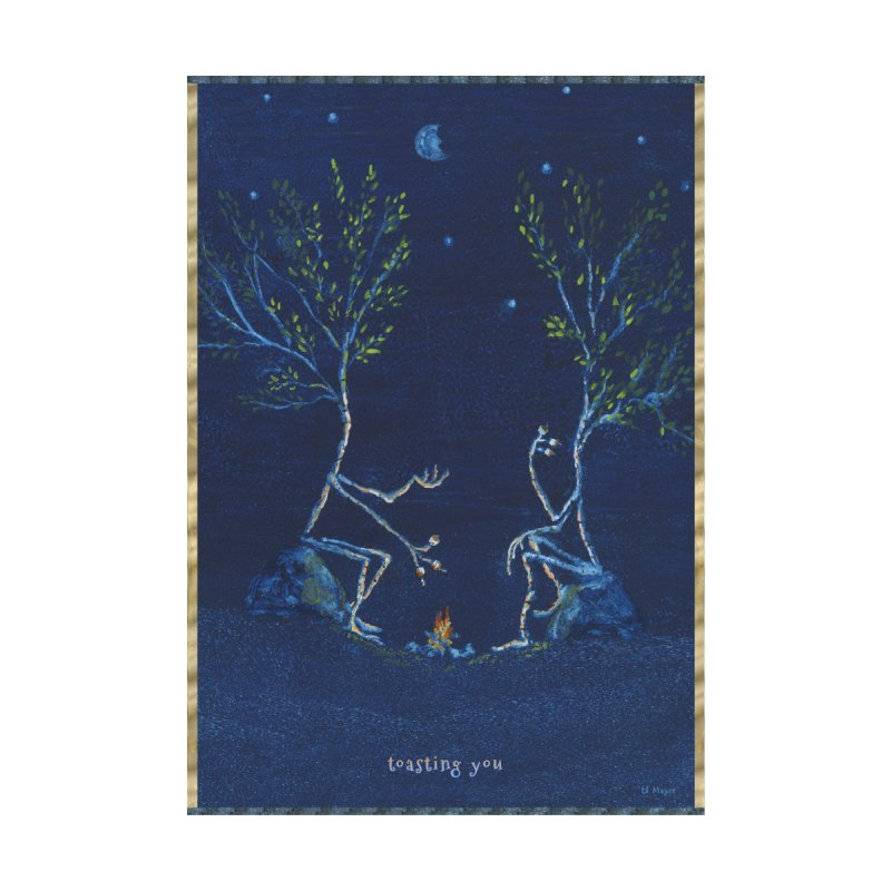 toasting you by Family Tree Artist Shop