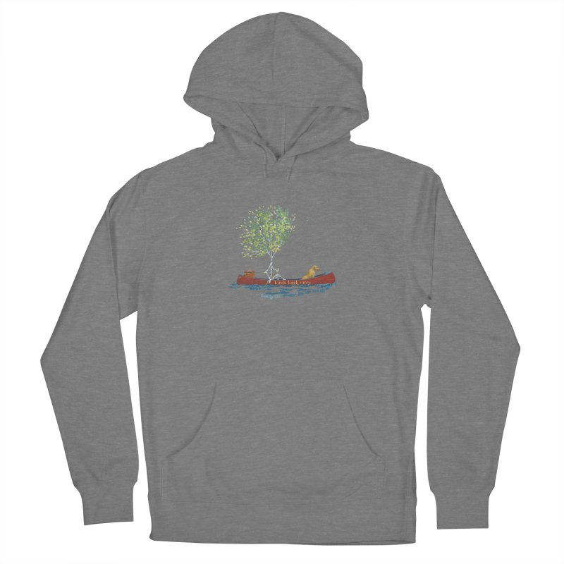 Birch Bark Canoe Women's Pullover Hoody by Family Tree Artist Shop