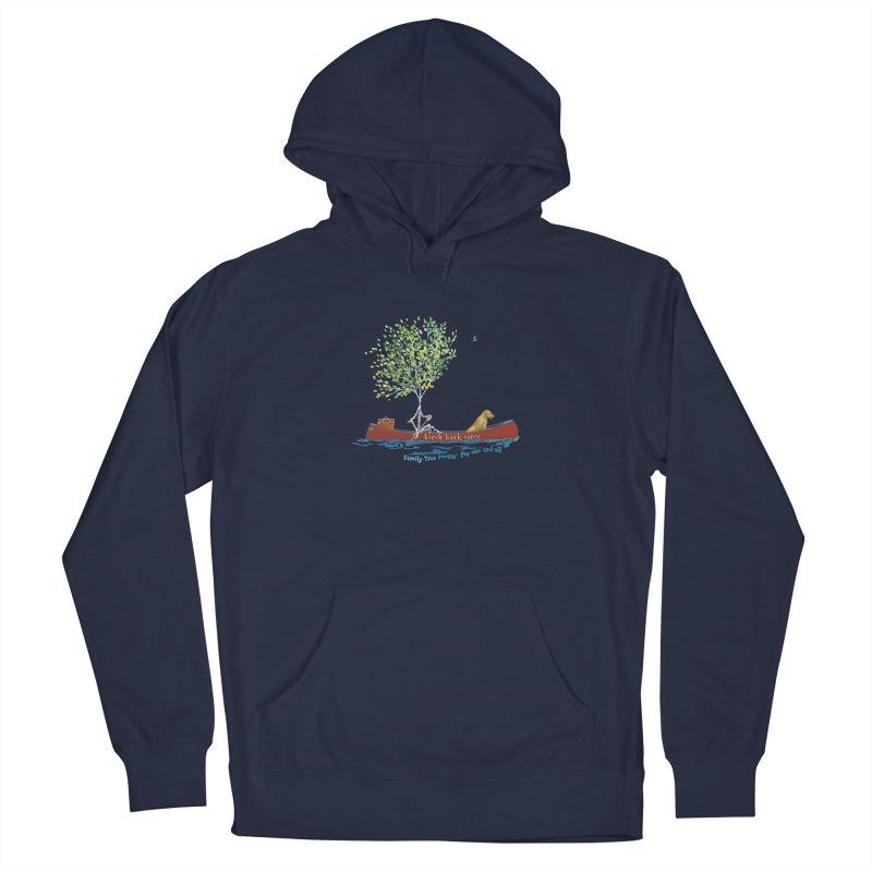 Birch Bark Canoe Men's Pullover Hoody by Family Tree Artist Shop