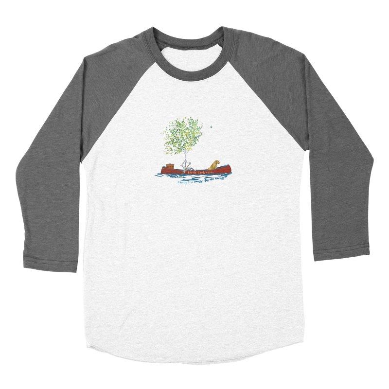 Birch Bark Canoe Women's Longsleeve T-Shirt by Family Tree Artist Shop
