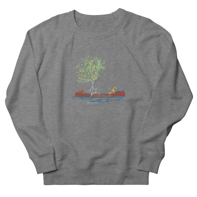 Birch Bark Canoe Women's Sweatshirt by Family Tree Artist Shop