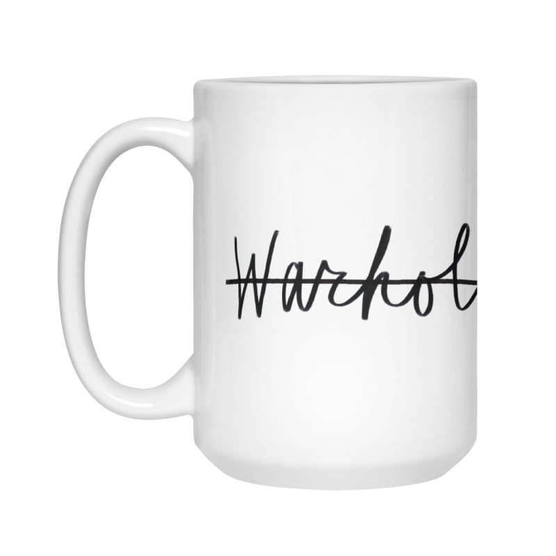 Warhola Merch Accessories Mug by Famous Letter Writer