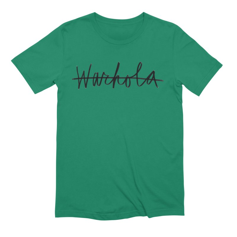 Warhola Merch Men's T-Shirt by Famous Letter Writer