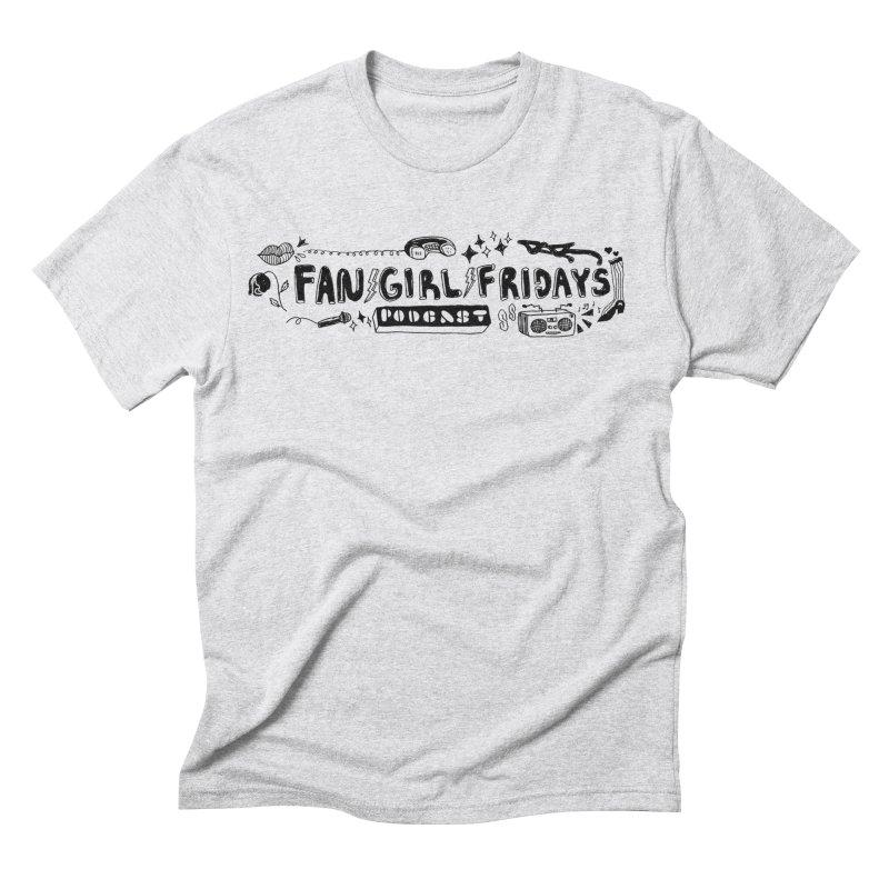Banner Men's T-Shirt by fangirlfridayspodcast's Artist Shop