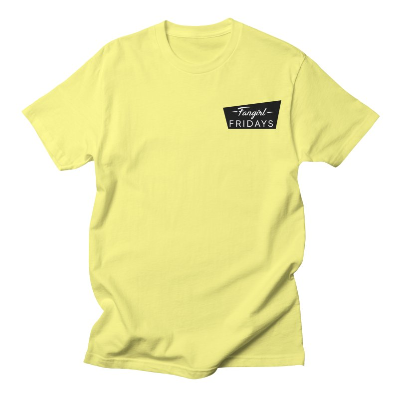 Minimalist  Men's T-Shirt by fangirlfridayspodcast's Artist Shop
