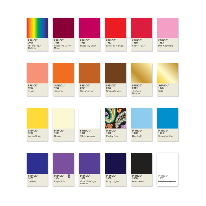 The Colors Of Prince