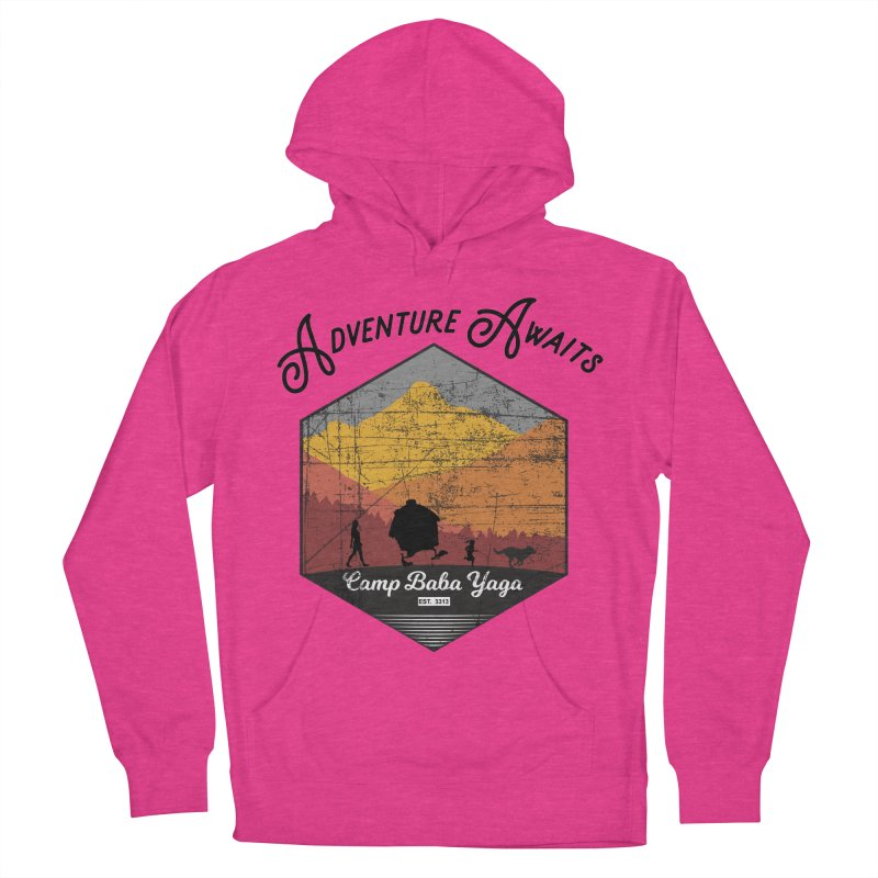 Adventure Awaits - Camp Baba Yaga - Herald's of Summer's Return Edition Men's French Terry Pullover Hoody by Fantastic Worlds Podcast  Shop