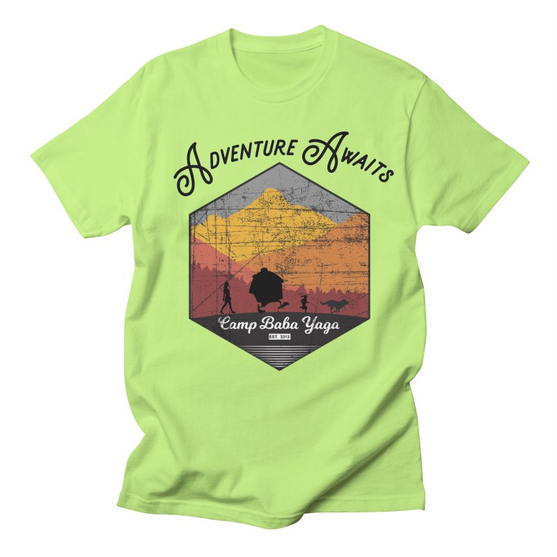 Adventure Awaits - Camp Baba Yaga - Herald's of Summer's Return Edition Women's Regular Unisex T-Shirt by Fantastic Worlds Podcast  Shop