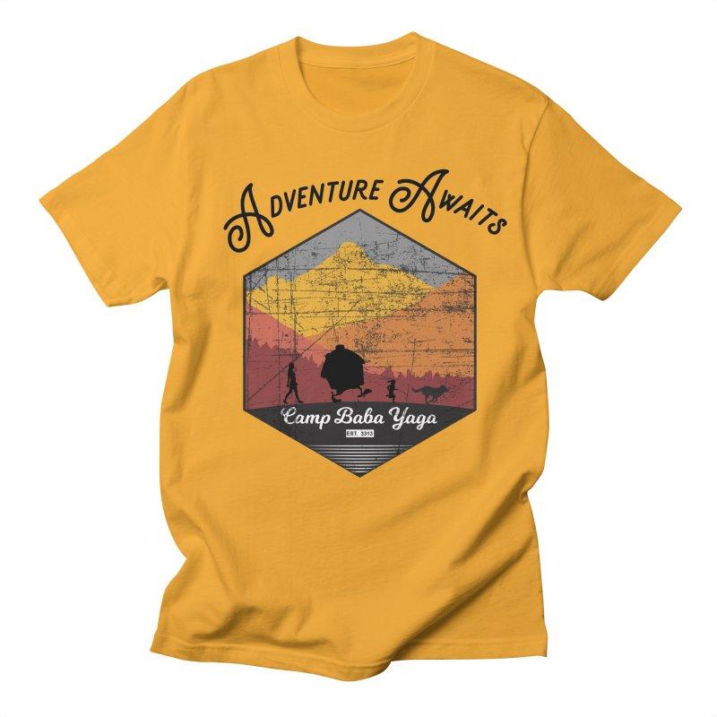 Adventure Awaits - Camp Baba Yaga - Herald's of Summer's Return Edition Men's Regular T-Shirt by Fantastic Worlds Podcast  Shop