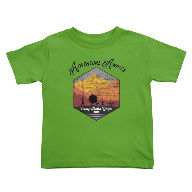 Adventure Awaits - Camp Baba Yaga - Herald's of Summer's Return Edition Kids Toddler T-Shirt by Fantastic Worlds Podcast  Shop