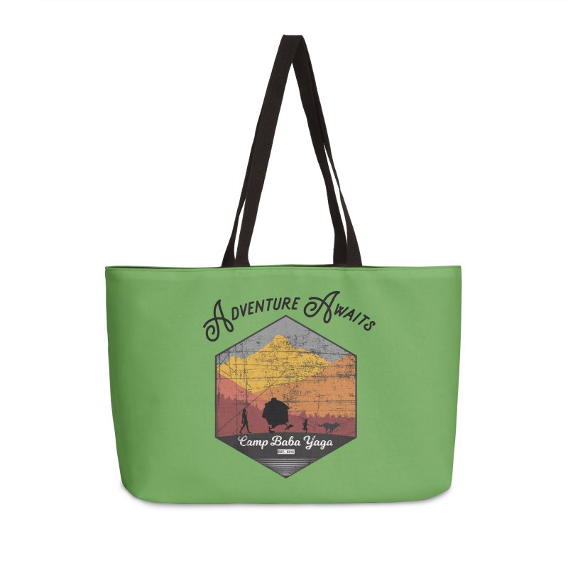 Adventure Awaits - Camp Baba Yaga - Herald's of Summer's Return Edition Accessories Bag by Fantastic Worlds Podcast  Shop