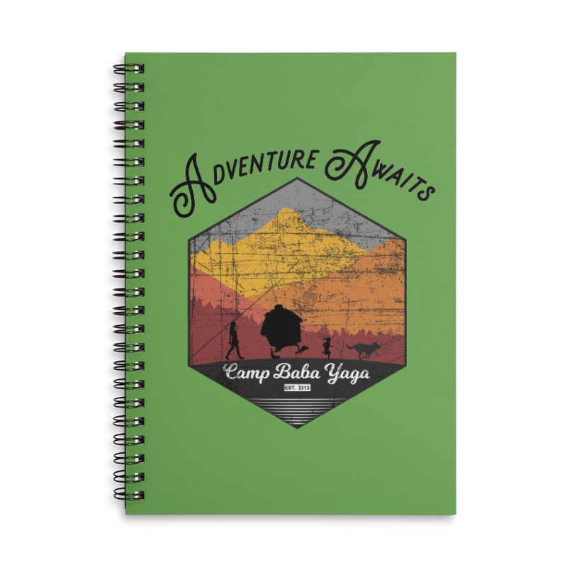 Adventure Awaits - Camp Baba Yaga - Herald's of Summer's Return Edition Accessories Notebook by Fantastic Worlds Podcast  Shop