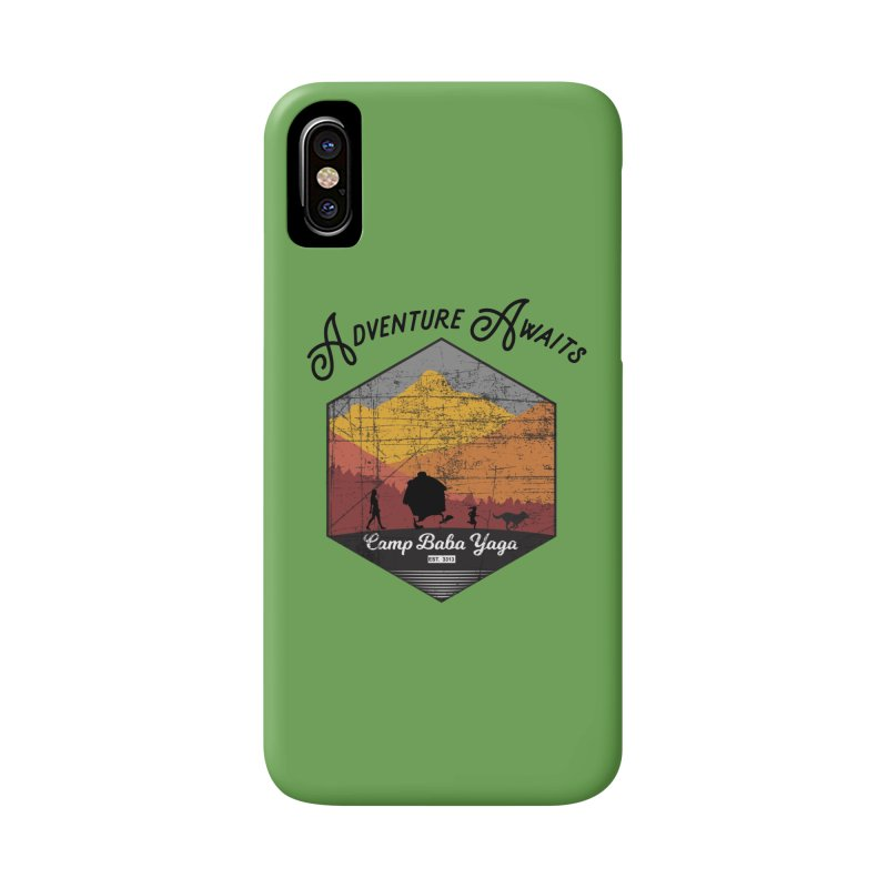 Adventure Awaits - Camp Baba Yaga - Herald's of Summer's Return Edition Accessories Phone Case by Fantastic Worlds Podcast  Shop
