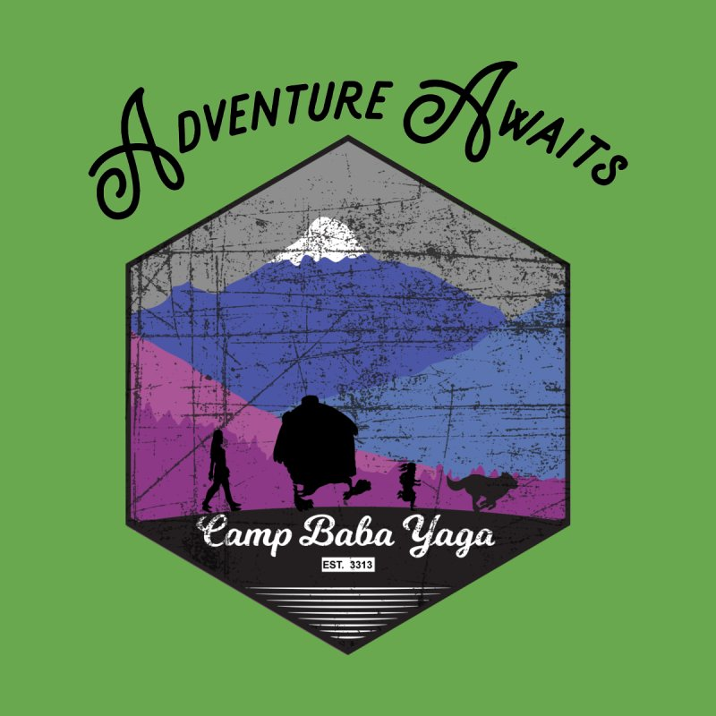Adventure Awaits - Camp Baba Yaga - Winter Witch Edition Kids Toddler T-Shirt by Fantastic Worlds Podcast  Shop