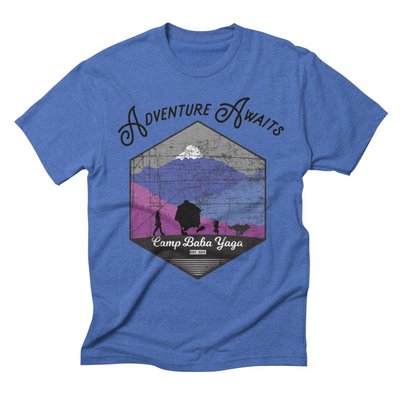 Adventure Awaits - Camp Baba Yaga - Winter Witch Edition Men's T-Shirt by Fantastic Worlds Podcast  Shop
