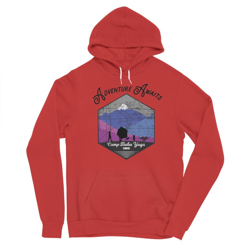 Adventure Awaits - Camp Baba Yaga - Winter Witch Edition Women's Pullover Hoody by Fantastic Worlds Podcast  Shop