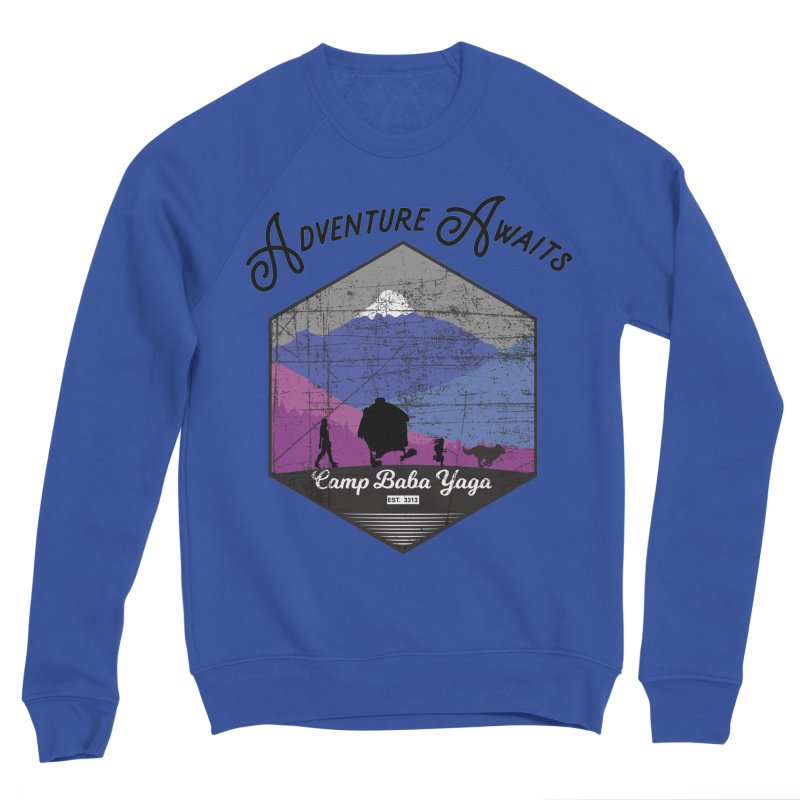 Adventure Awaits - Camp Baba Yaga - Winter Witch Edition Men's Sweatshirt by Fantastic Worlds Podcast  Shop