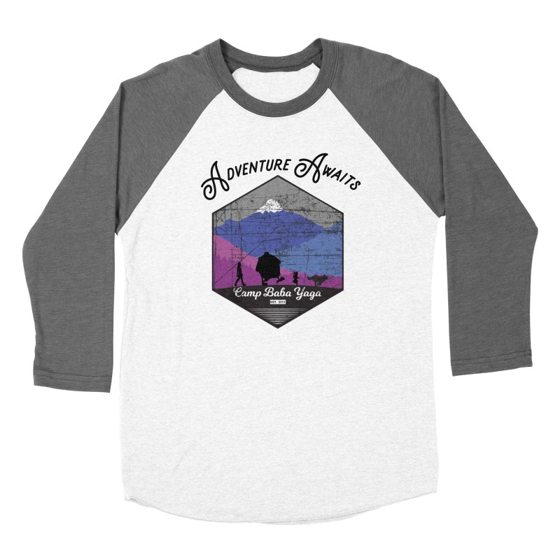 Adventure Awaits - Camp Baba Yaga - Winter Witch Edition Women's Longsleeve T-Shirt by Fantastic Worlds Podcast  Shop