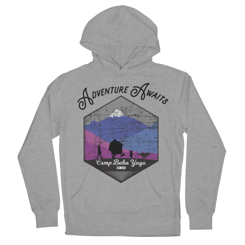 Adventure Awaits - Camp Baba Yaga - Winter Witch Edition Men's French Terry Pullover Hoody by Fantastic Worlds Podcast  Shop
